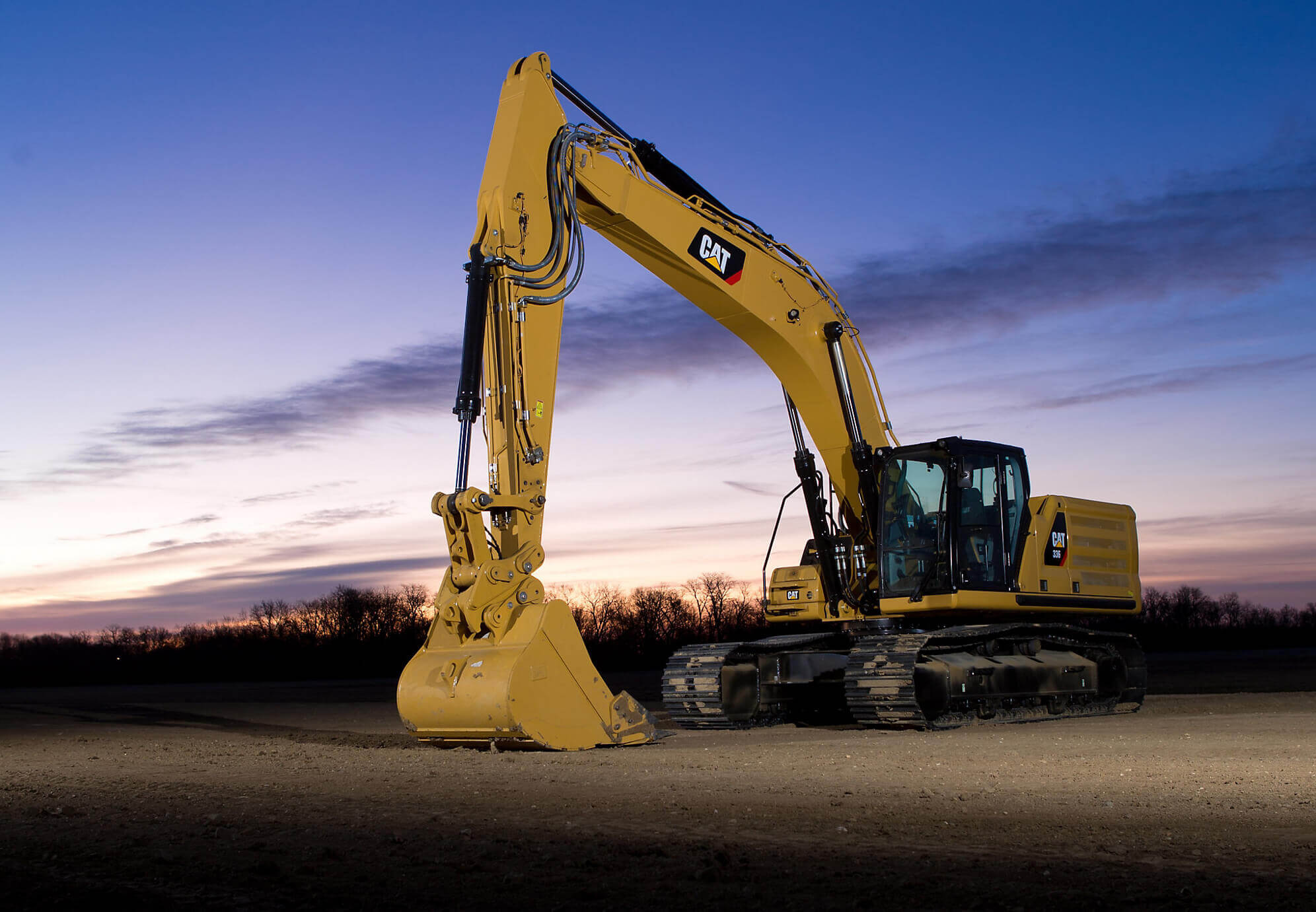 NEXT GENERATION CAT EXCAVATORS