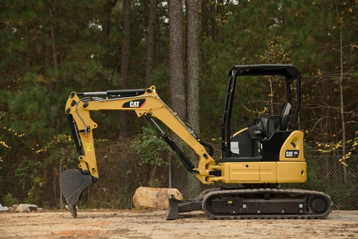 The 303E CR is productive, durable, and ready to work.