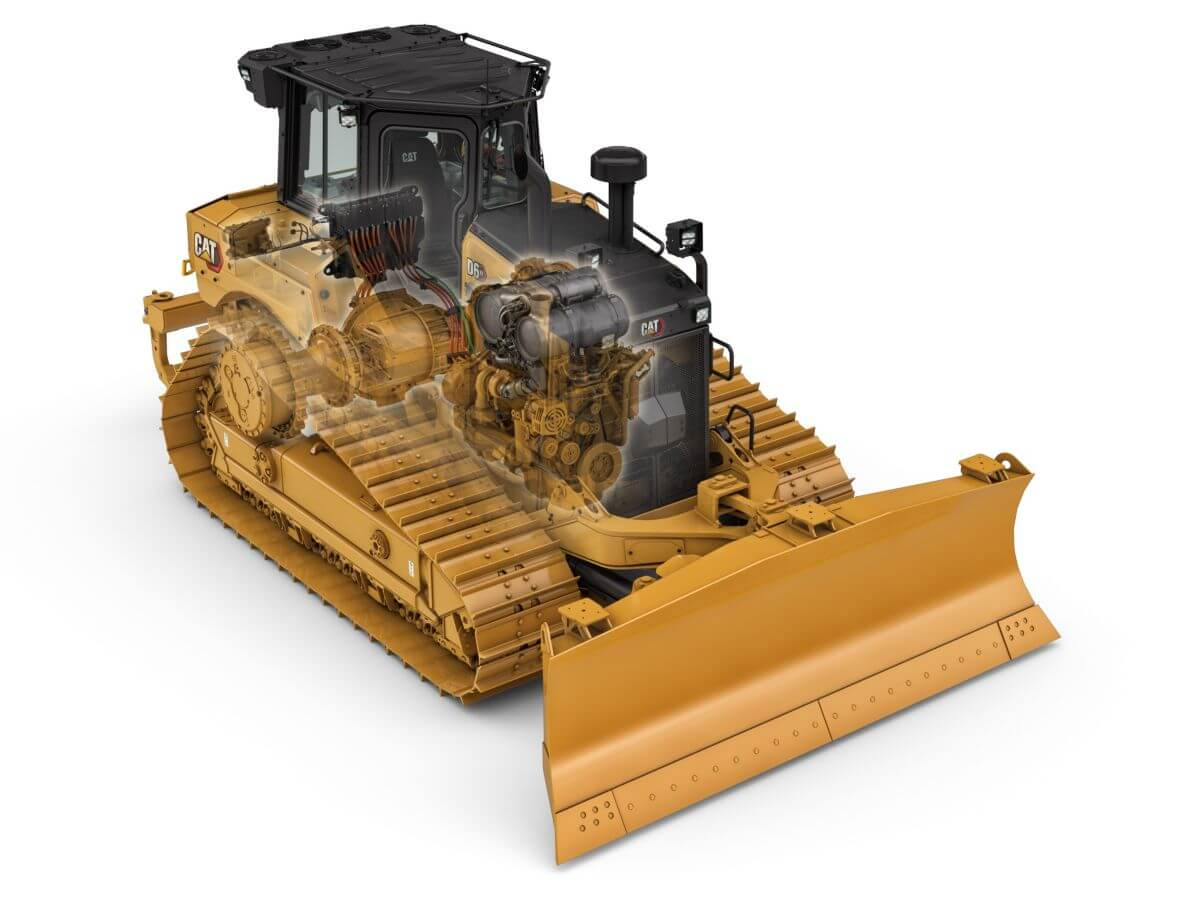 Take a Look Inside the D6 XE Dozer with Electric Drive