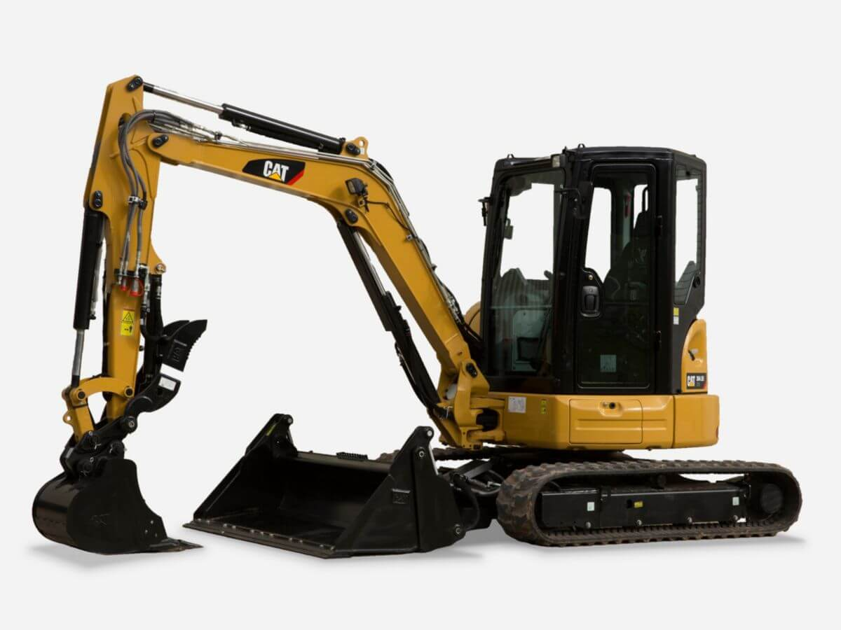 304.5E2 XTC Mini Hydraulic Excavator with Xtra Tool Carrier