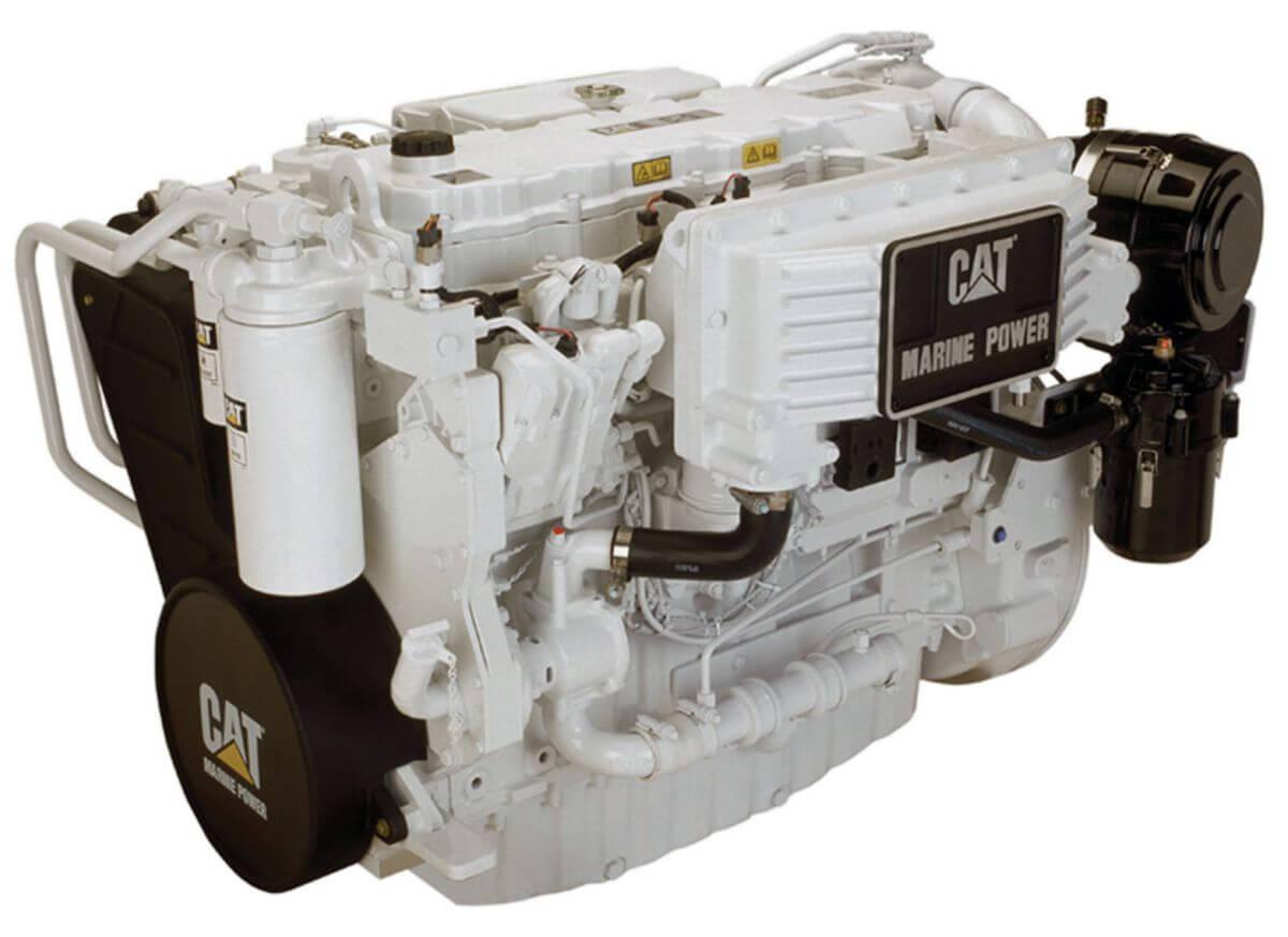 Cat C9 ACERT™ High Performance Marine Propulsion Engine