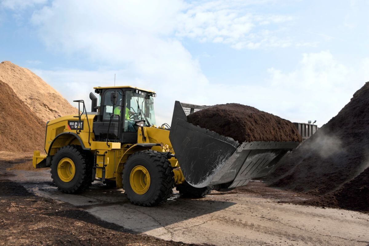 950 GC Medium Wheel Loader Performance/Efficiency