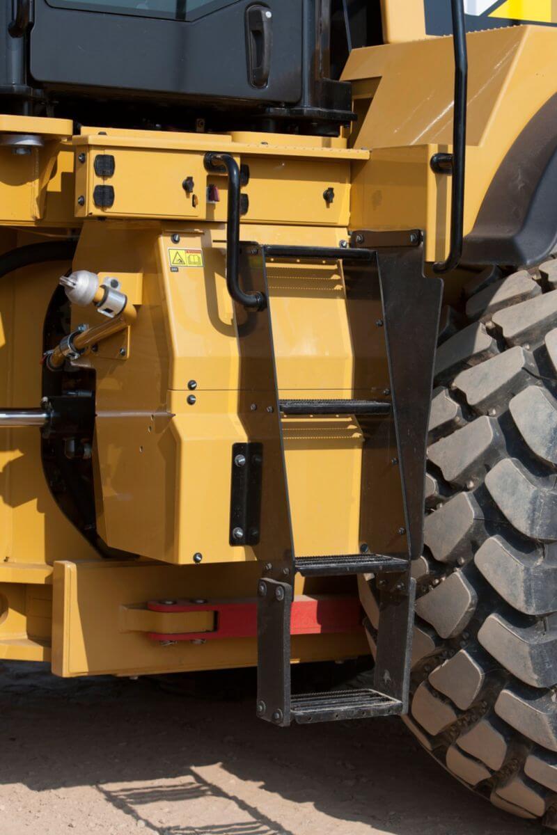 Säkerhet, 982M medelstor hjullastare