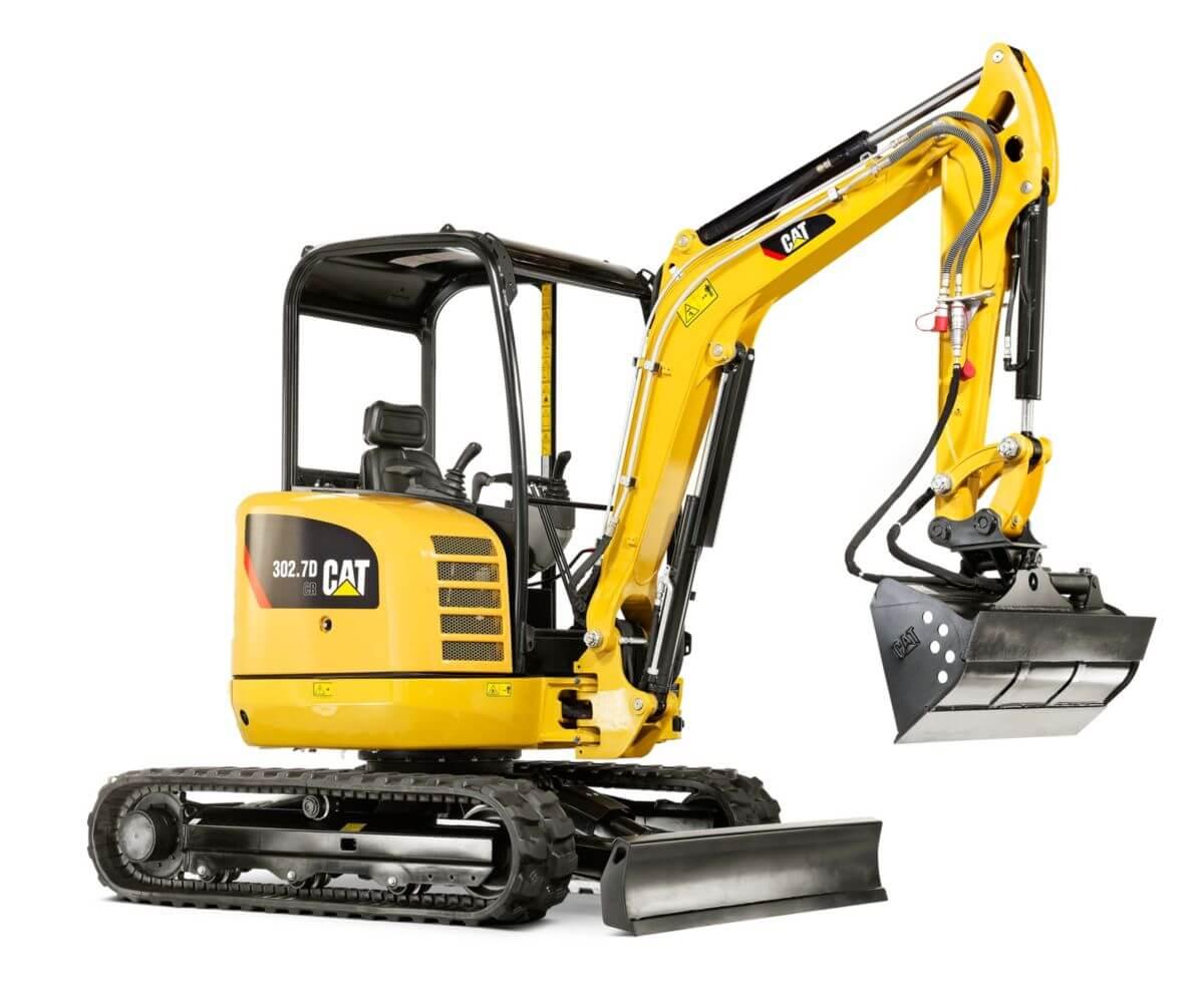 Cat 302 7D CR Mini Hydraulic Excavator