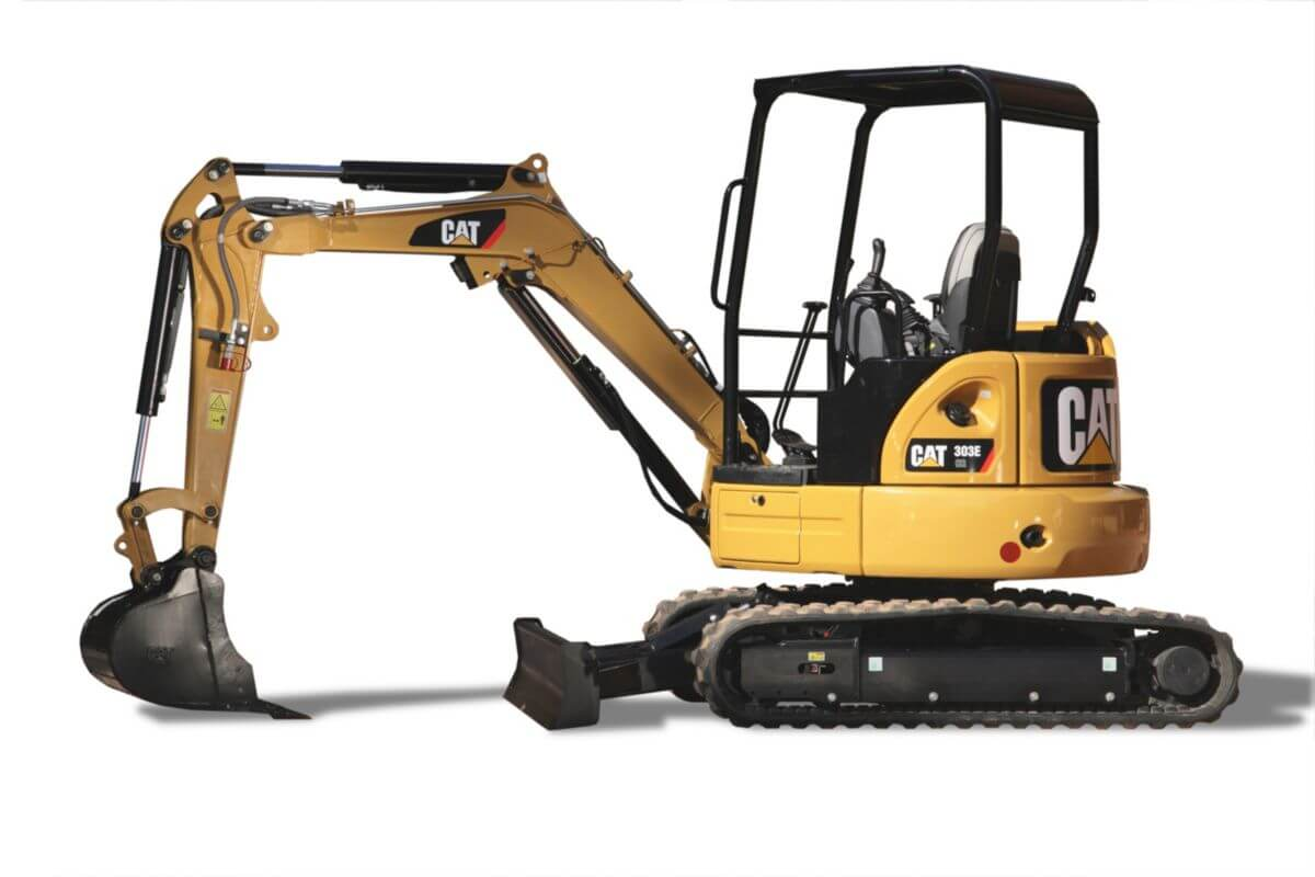303E CR Mini Hydraulic Excavator