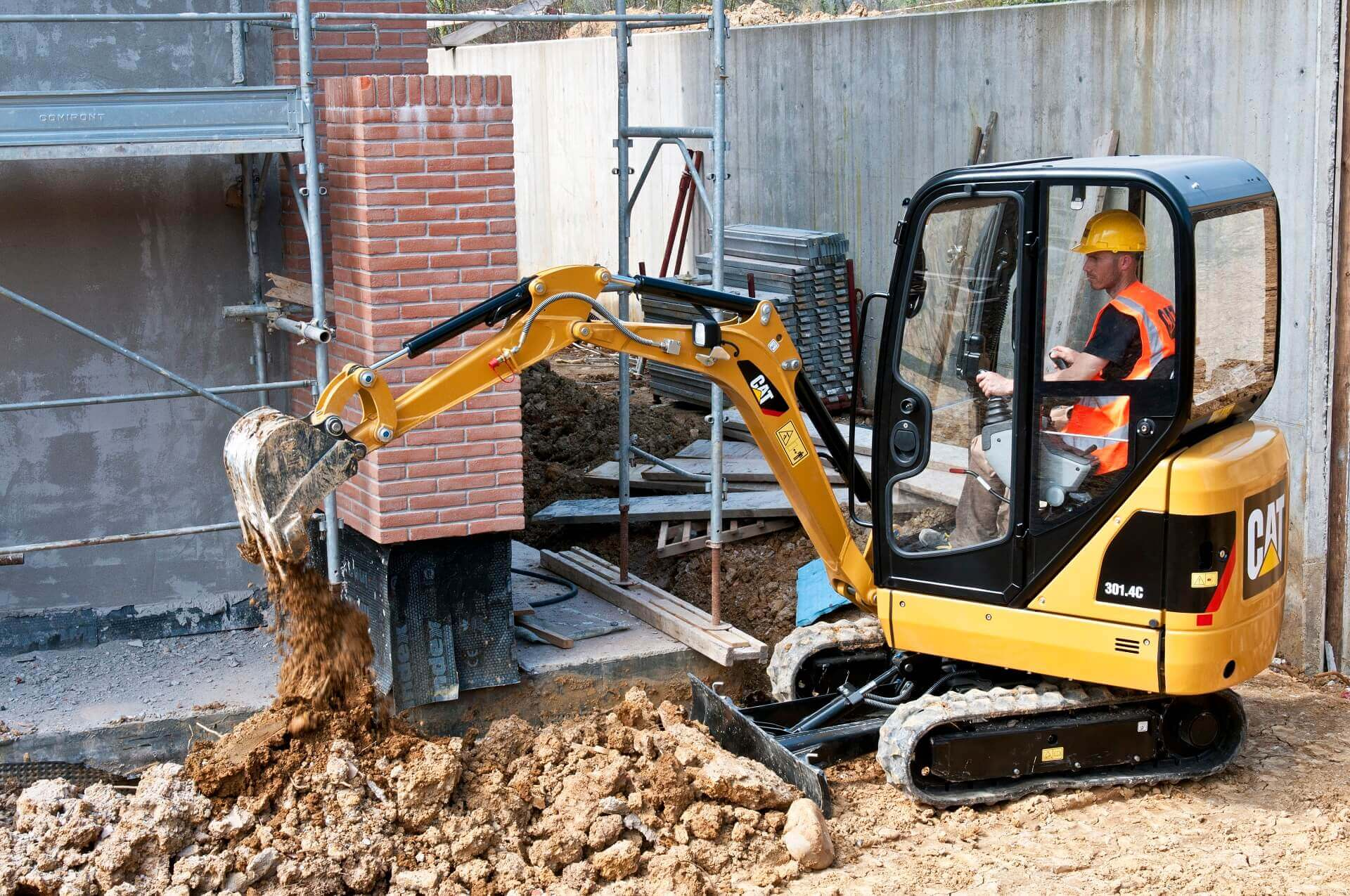 Rental - Productgroep -  Midi en Minigraafmachines - Cat 301.4C