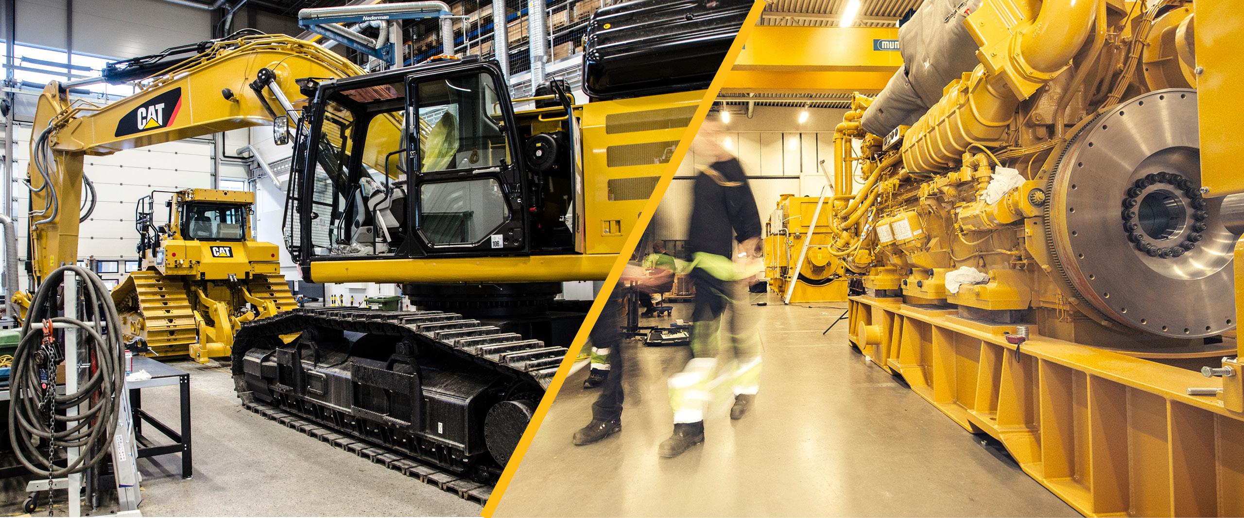 Services | Cat machines | Pon Equipment