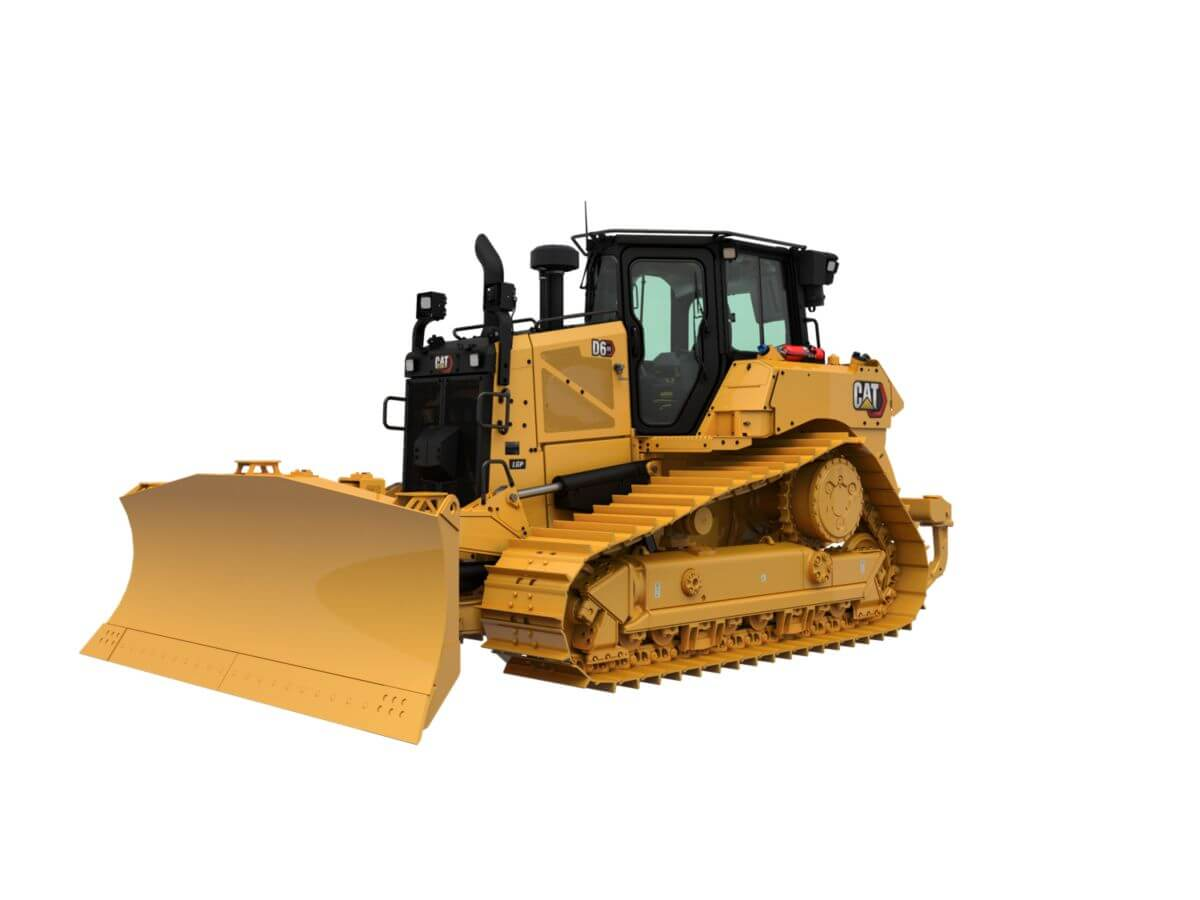 D6 XE Dozer with Electric Drive