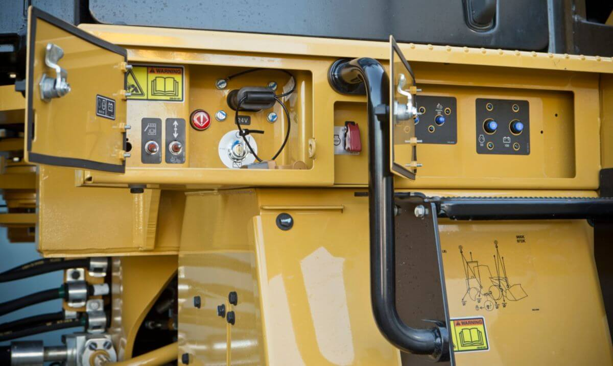 Säkerhet, 966M XE medelstor hjullastare