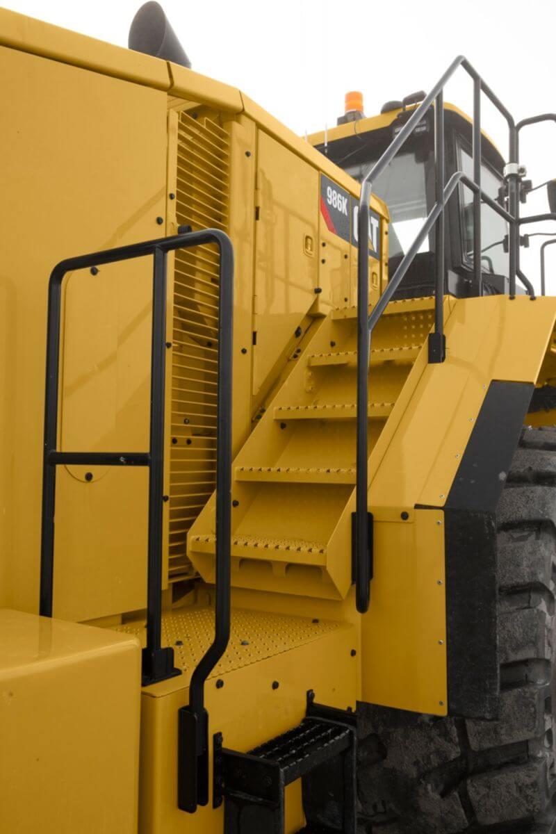 986K Machine Access
