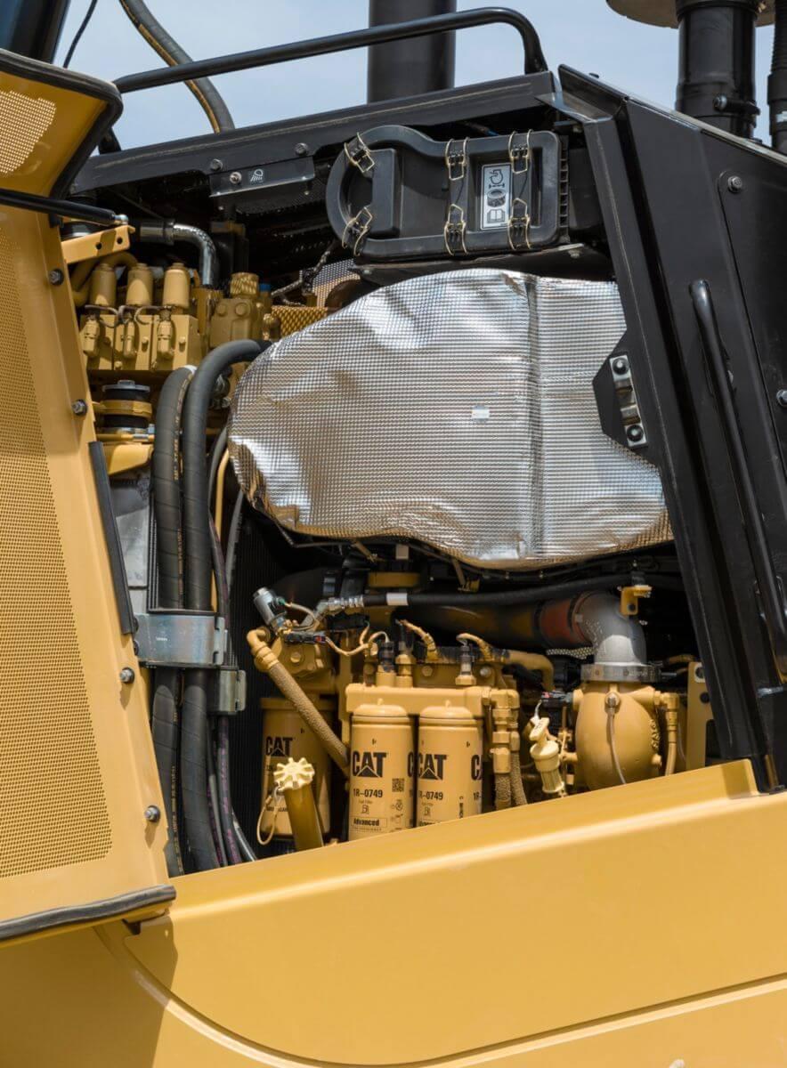 D7E Dozer Emissions Technology