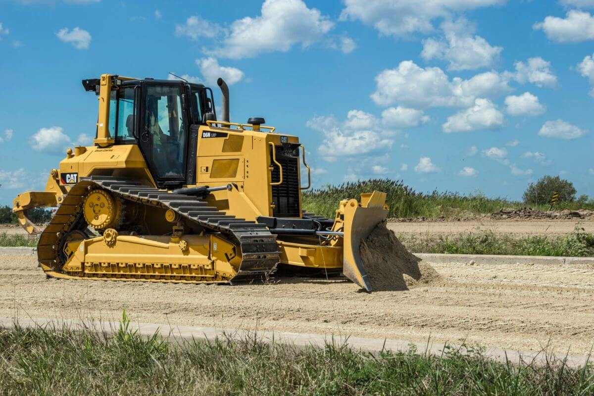 D6N Dozer Equipped for the Job