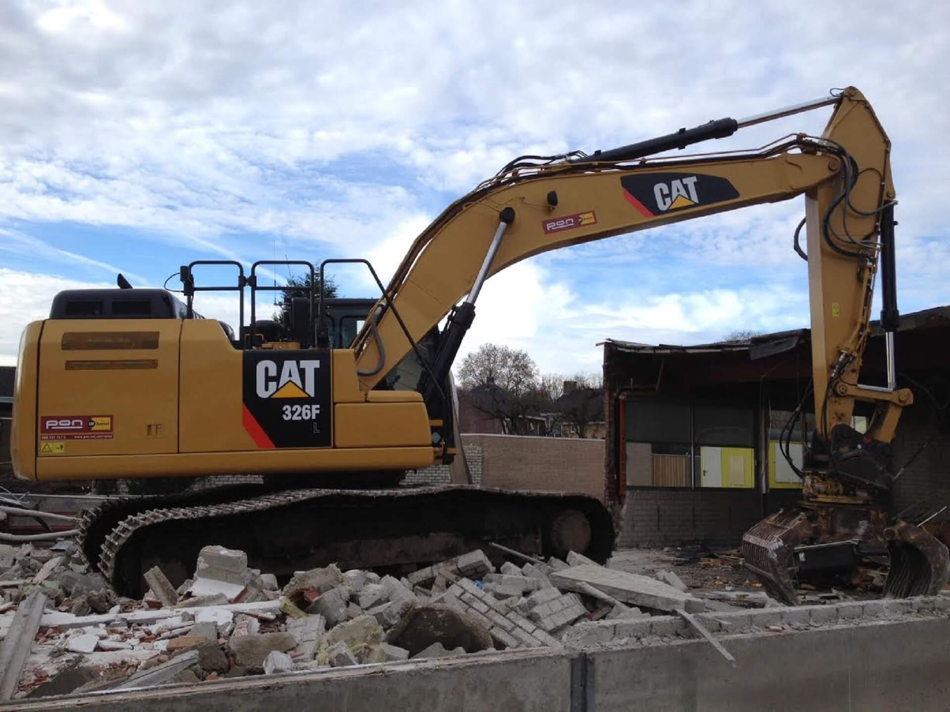 Rental - Productgroep - Rupsgraafmachines - Cat 326F