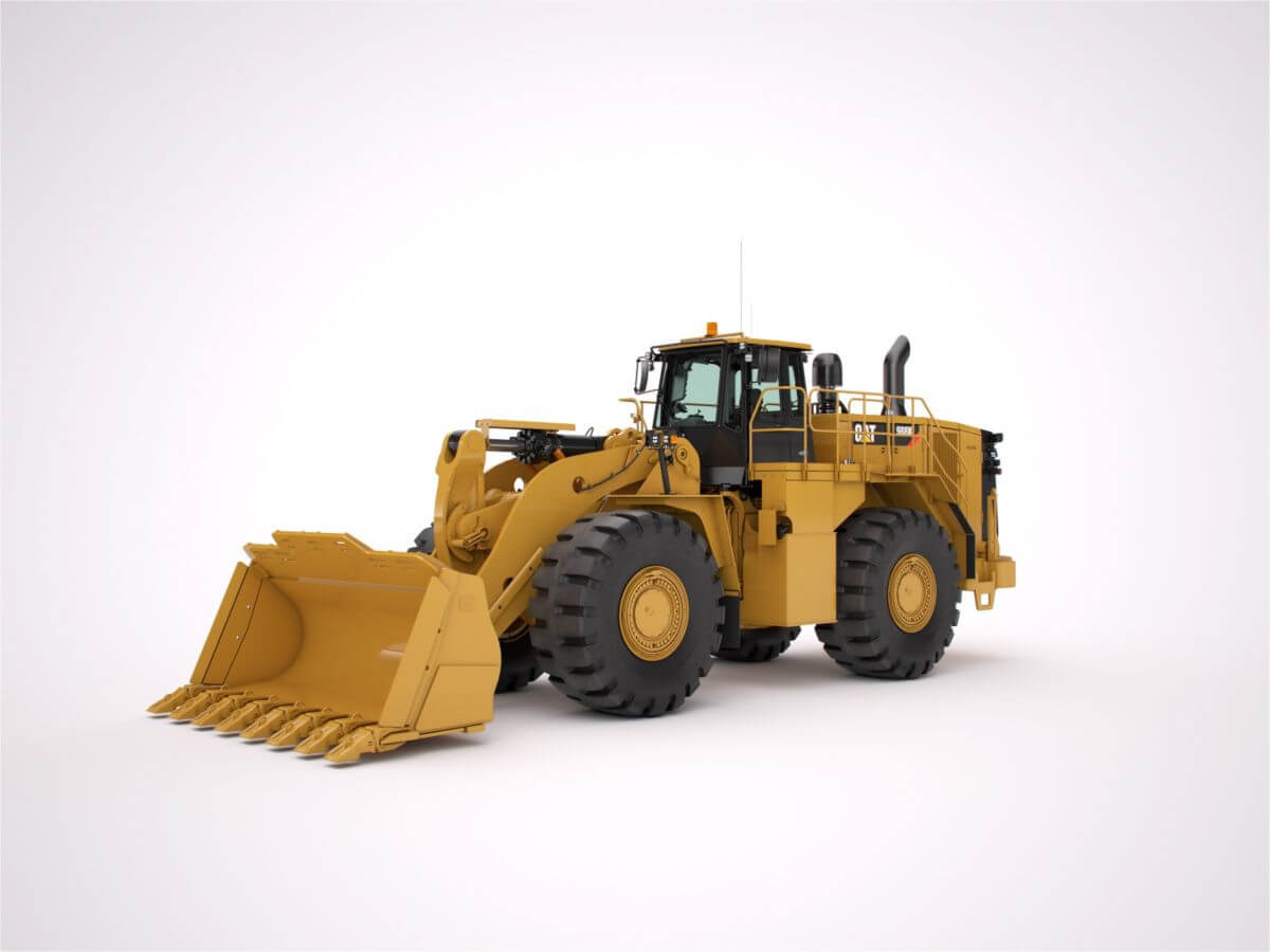 988K (Steel Mill Arrangement) Large Wheel Loader