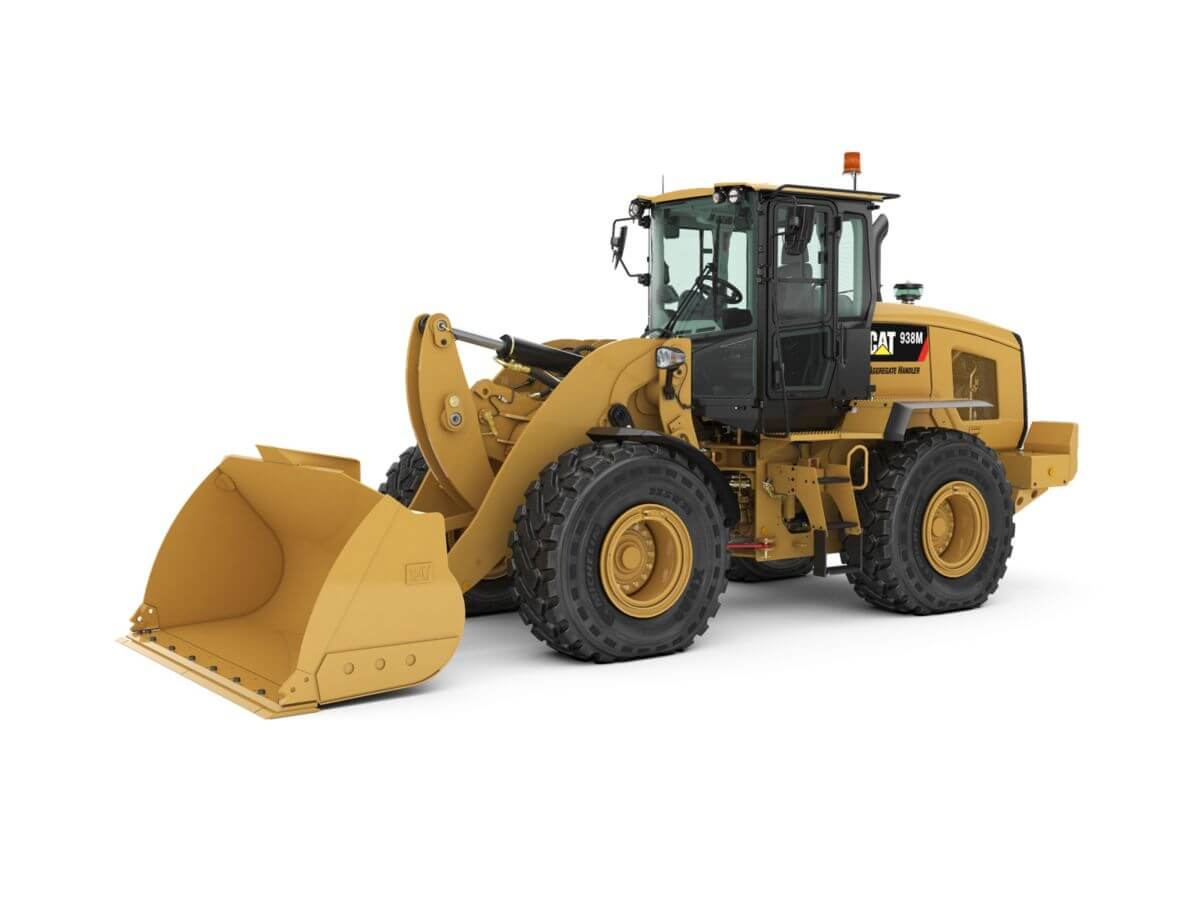 938M Aggregate Handler Small Wheel Loader
