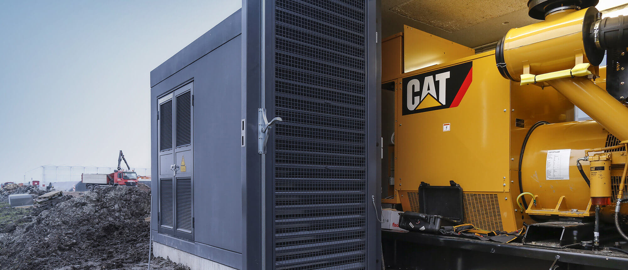 Power supply in all situations thanks to Caterpillar engines