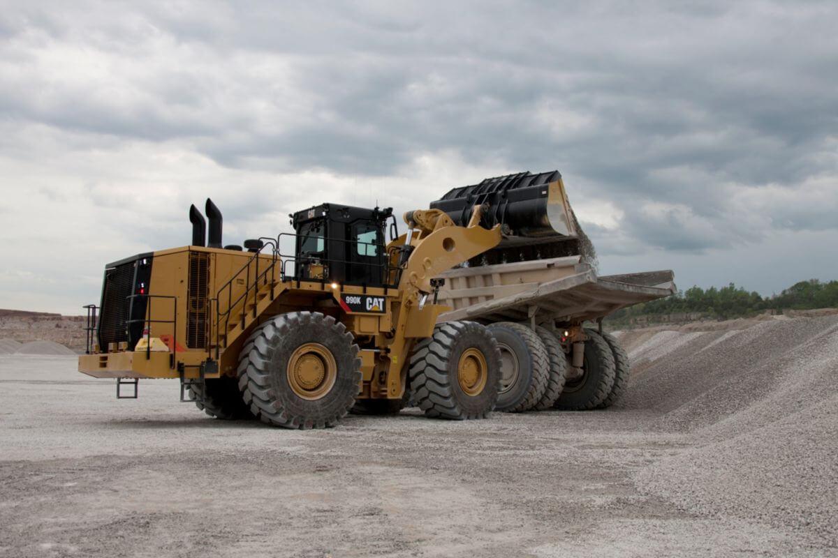 Cat 990K Large Wheel Loader